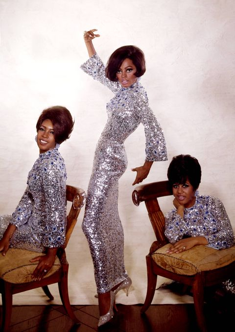 diana ross and mary wilson and supremes and cindy birdsong