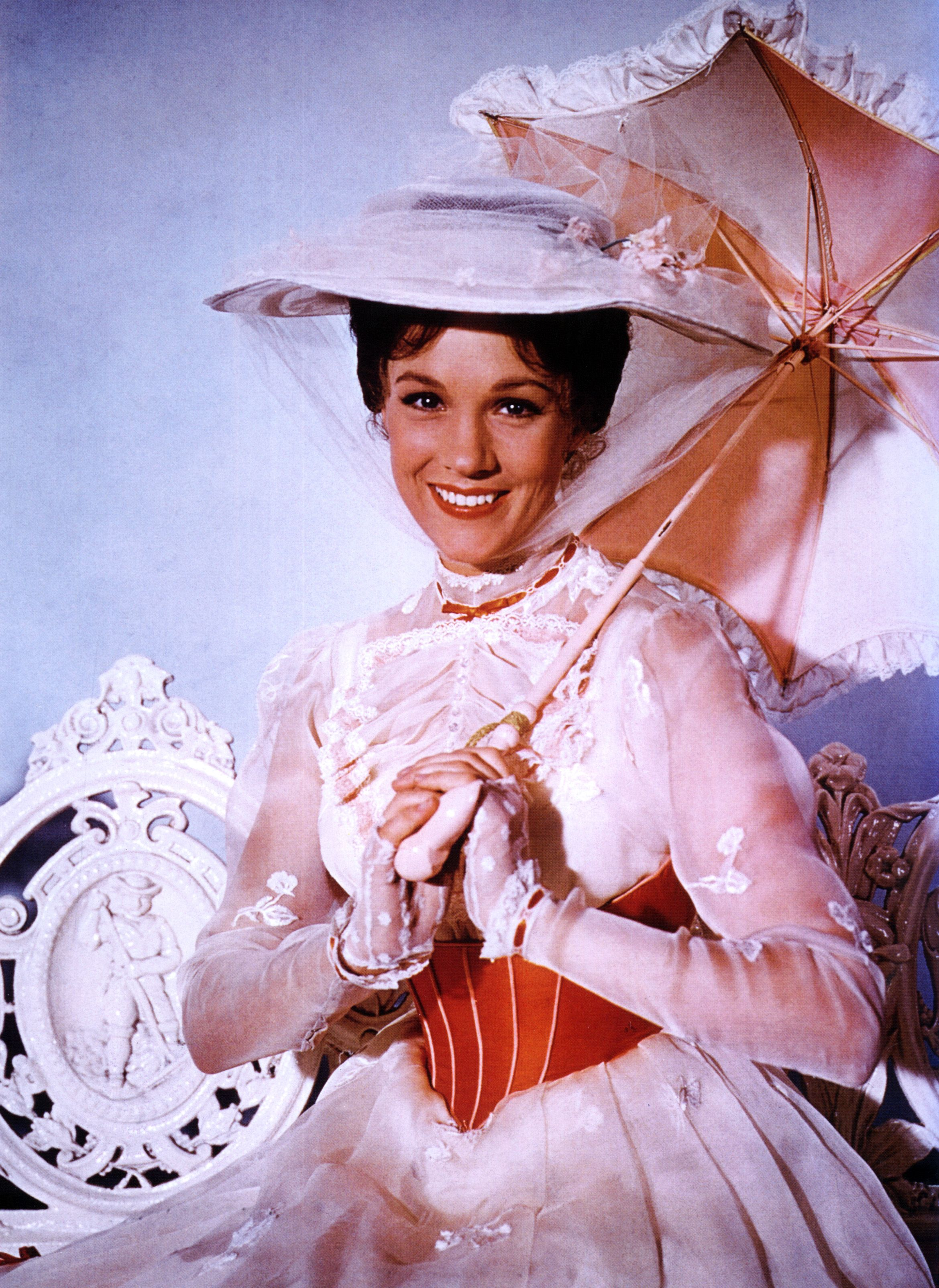 Julie Andrews Had a Close Call While Filming Mary Poppins's Flying Scenes