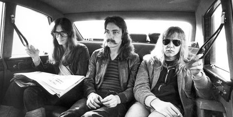 Photo of Neil PEART and RUSH and Geddy LEE and Alex LIFESON