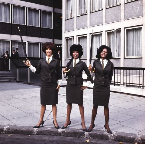 florence ballard and mary wilson and diana ross