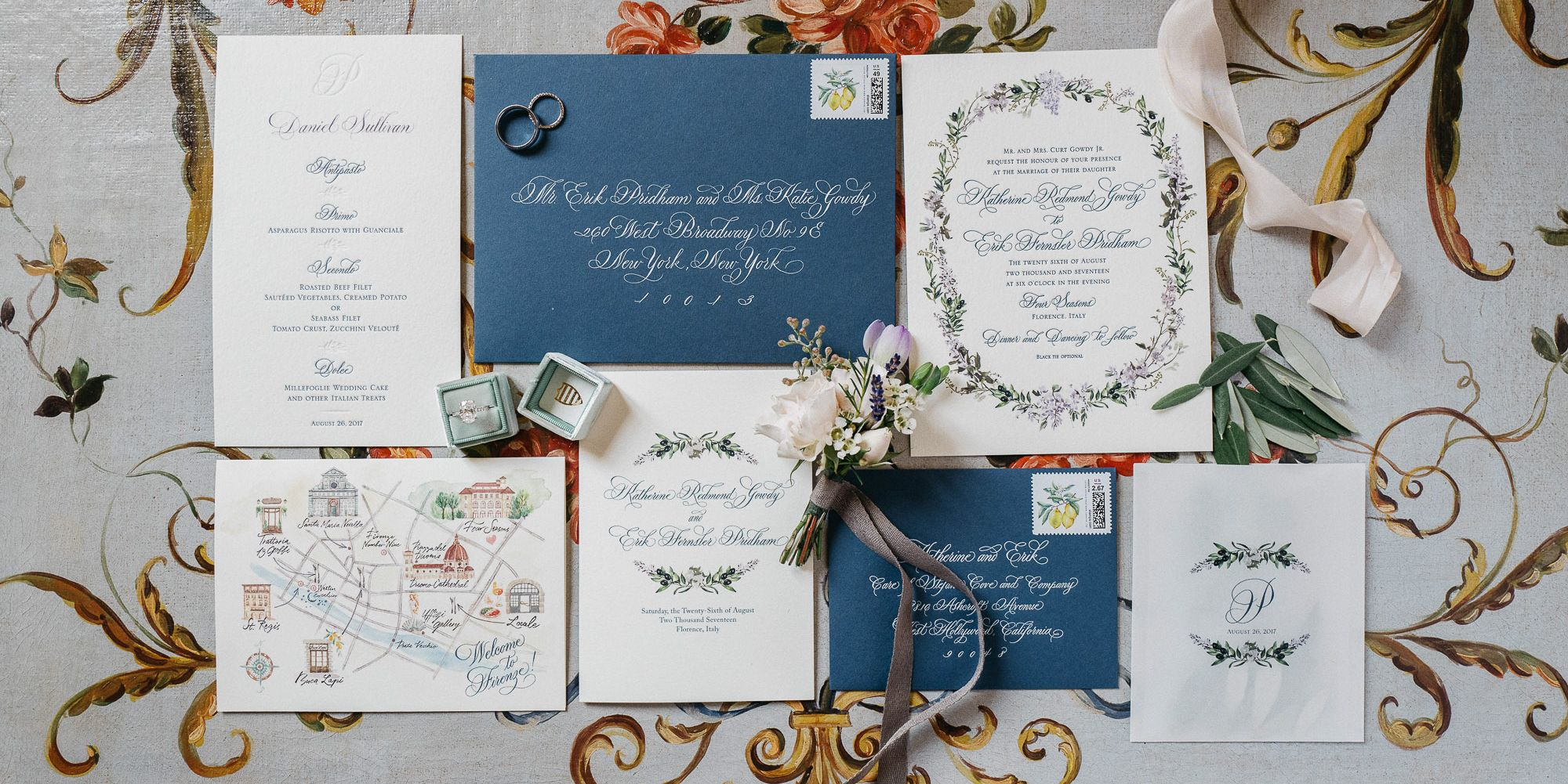 40 Elegant Wedding Invitations Ideas - Marriage Invitation ...