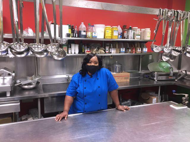 chef moe jordan of foodworks at the maryland food bank
