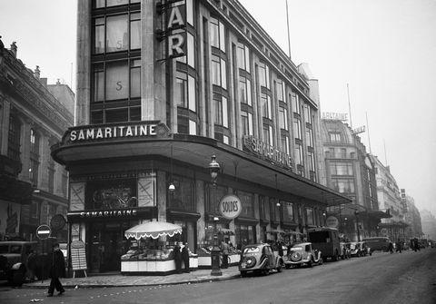 samaritaine facade 1949