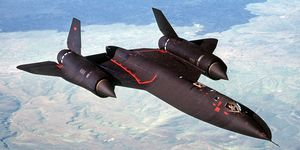 U.S. Air Force Lockheed SR-71A Blackbird.