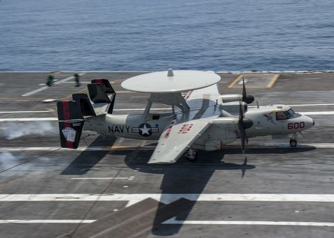 E-2C Hawkeye Landing