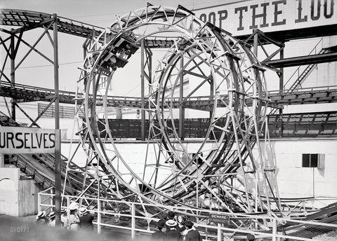 the loop the loop at coney island new york