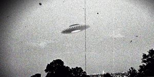 Supposed Westall UFO encounter.
