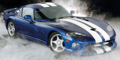 Land vehicle, Vehicle, Car, Sports car, Hood, Race car, Motor vehicle, Hennessey viper venom 1000 twin turbo, Chrysler viper gts-r, Dodge Viper,