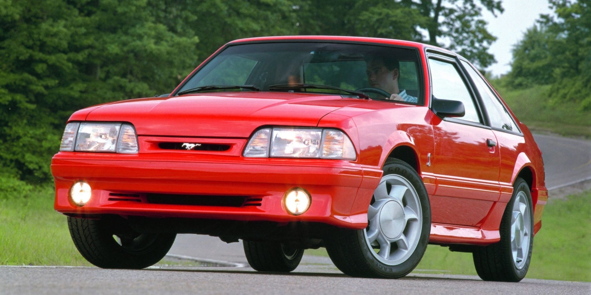 With the 1993 ford mustang cobra the aging fox body kept kicking ass