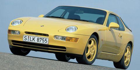 Land vehicle, Vehicle, Car, Regularity rally, Porsche 968, Sports car, Yellow, Coupé, Sedan, Porsche,