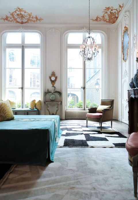 Sean Leffers Transforms a Classic Paris Apartment Into the Ultimate Party Spot