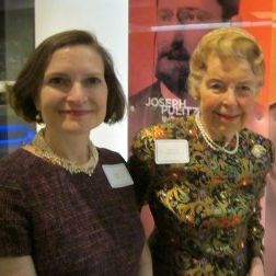 anne and phyllis schlafly at the missouri history museum in 2014