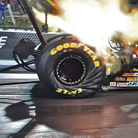 The Physics Of Dragster Tires Explained