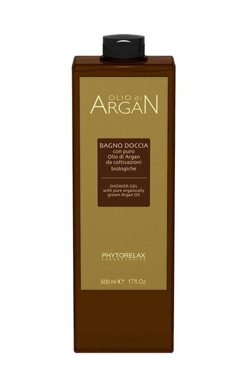 bagnoschiuma olio d'argan