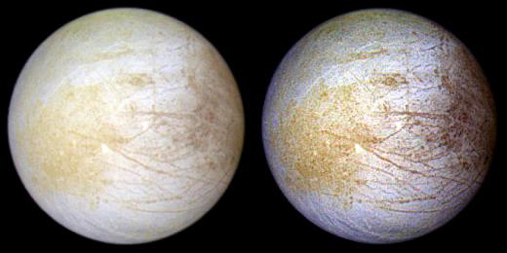 The Yellow Part of Jupiter's Watery Moon? That's Table Salt, NASA Says