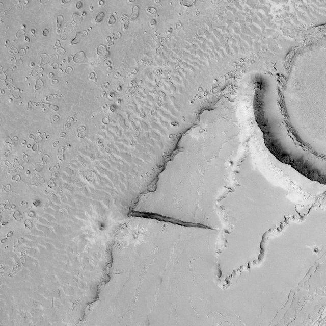 megaripples made of sand on mars