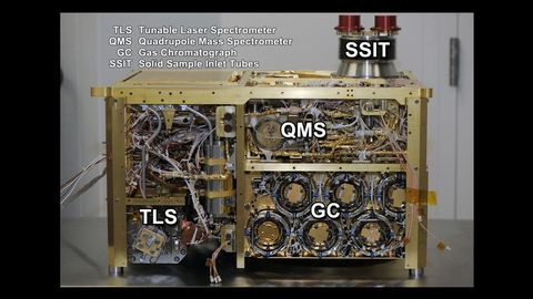 nasa sam tools methane mars
