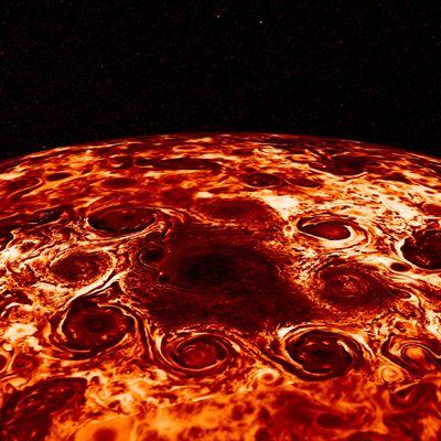 nasa infrared jupiter