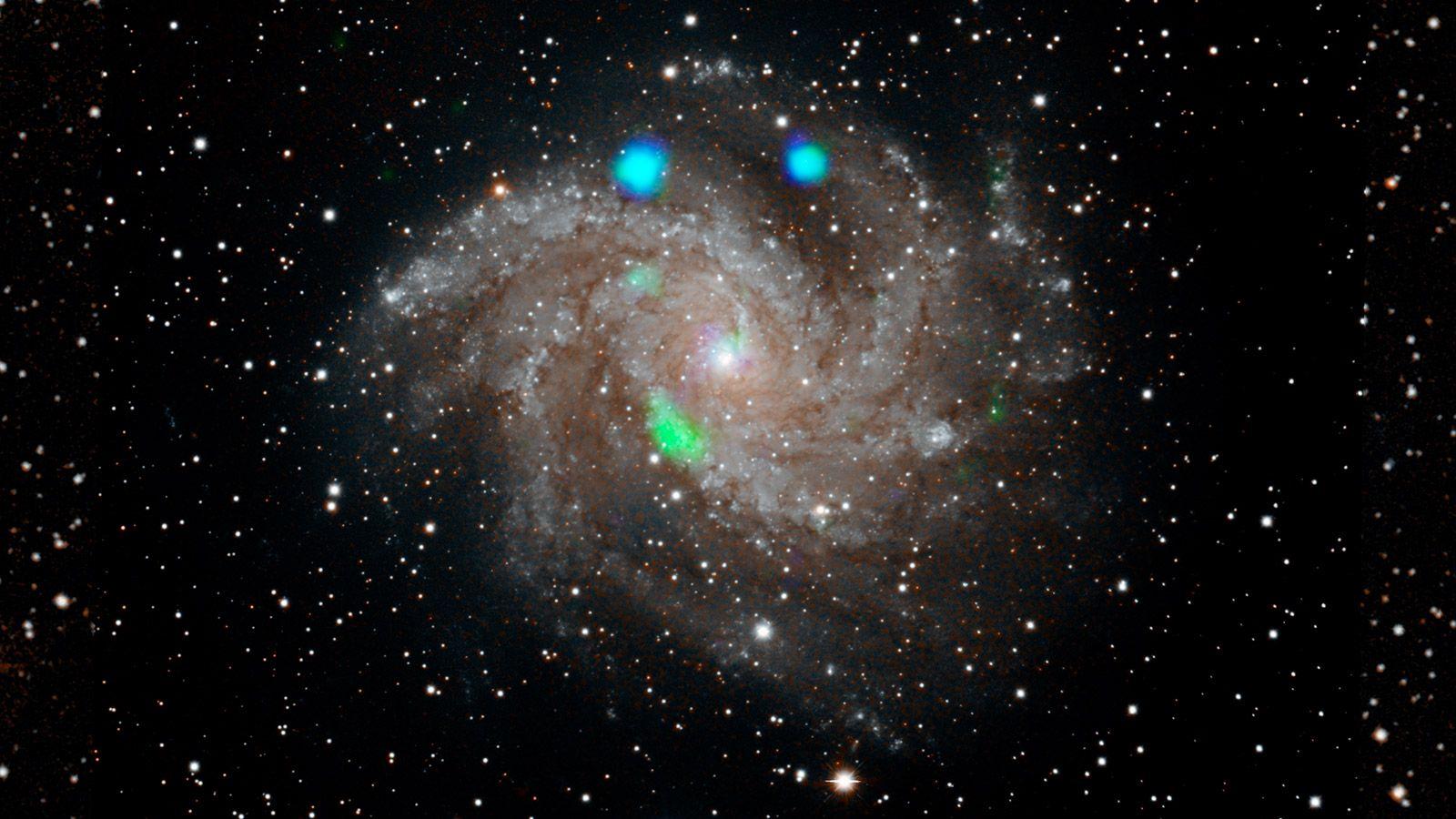NASA Stumped by Weird Green Blobs
