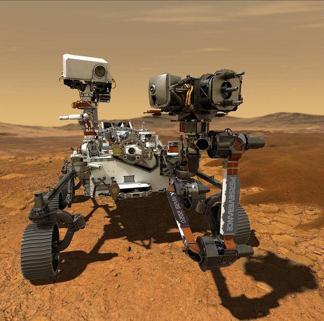 mars 2020 perseverance rover