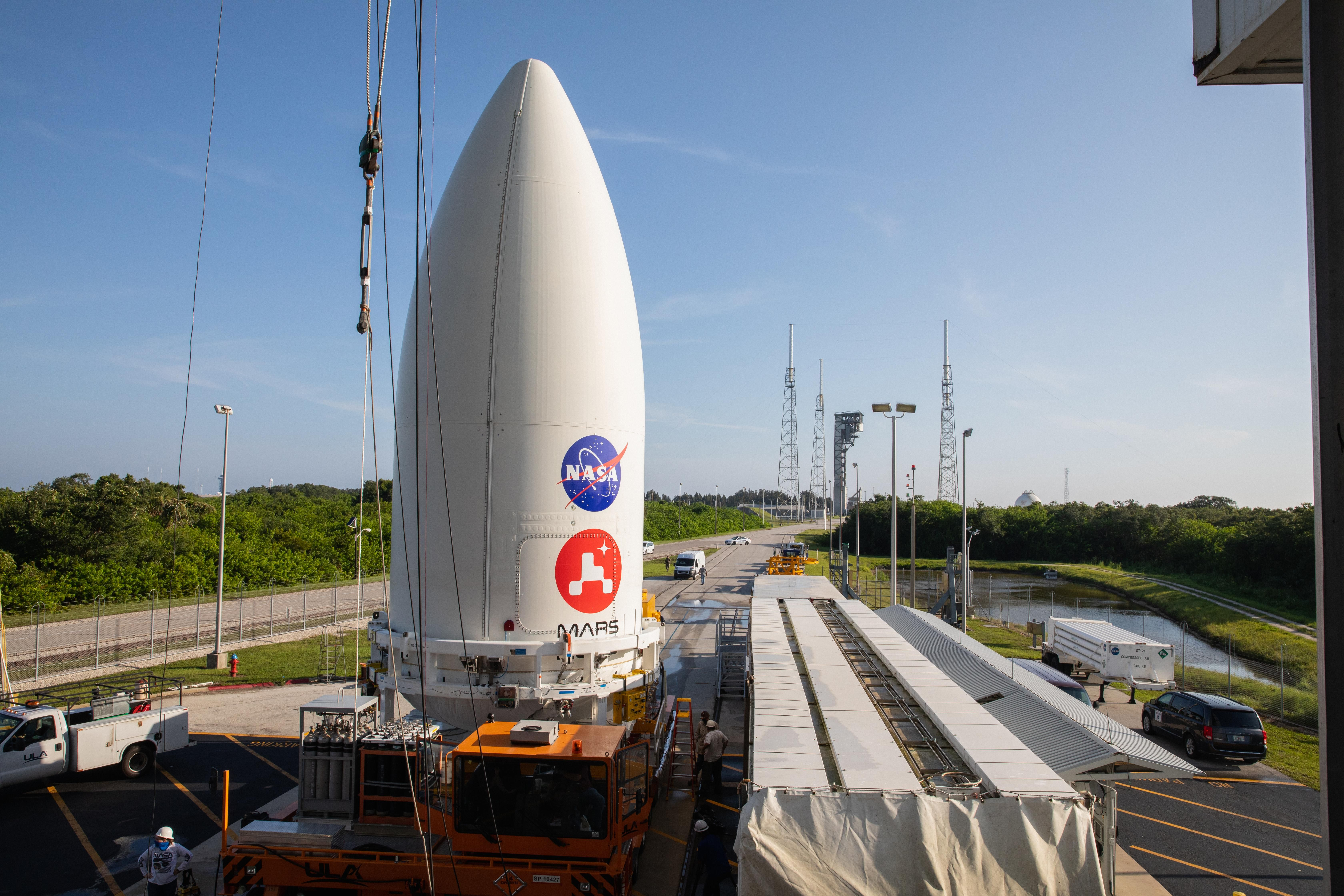 NASA's Perseverance Rover Is All Packed Up and Ready for Launch