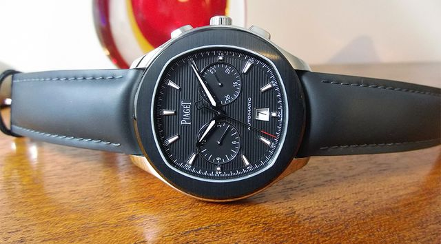 The Piaget Polo S Chronograph in black