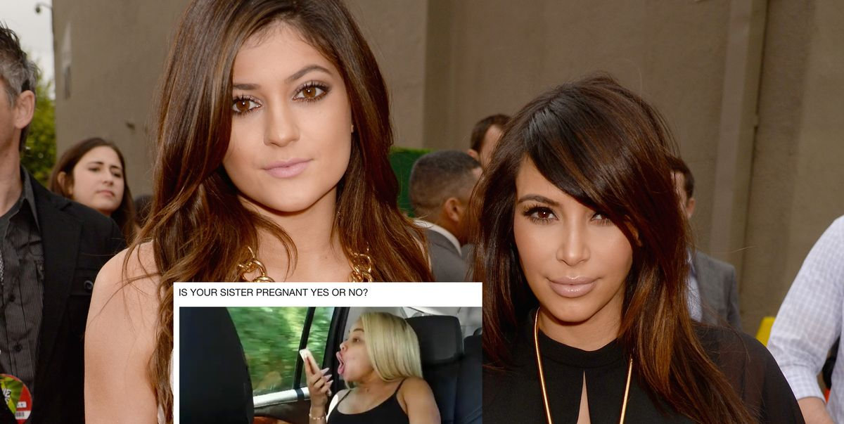 Twitter Is Bombarding Kim Kardashian's Recent Tweet To Find Out If Kylie's Pregnant