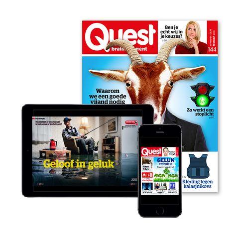lees quest digitaal op iPad, iPhone en Android