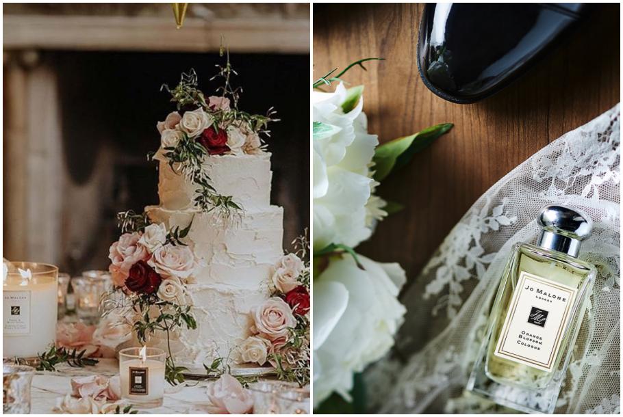 jomalone,香水,蕾絲,婚禮,