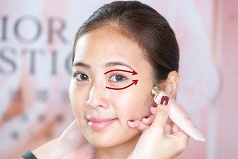 dior,迪奧,眼霜,按摩,眼周,暗沉,消水腫,黑眼圈,浮腫