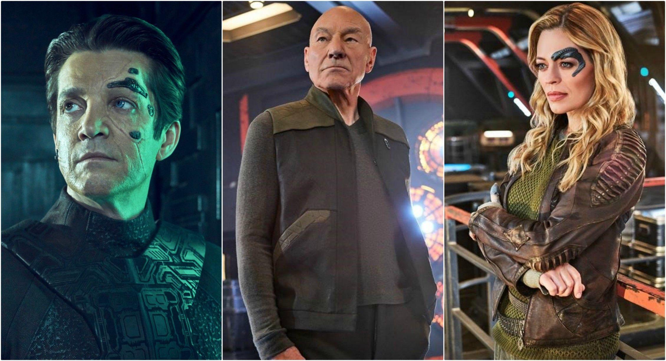 Quién es quién en 'Picard', la serie de 'Star Trek' en Amazon