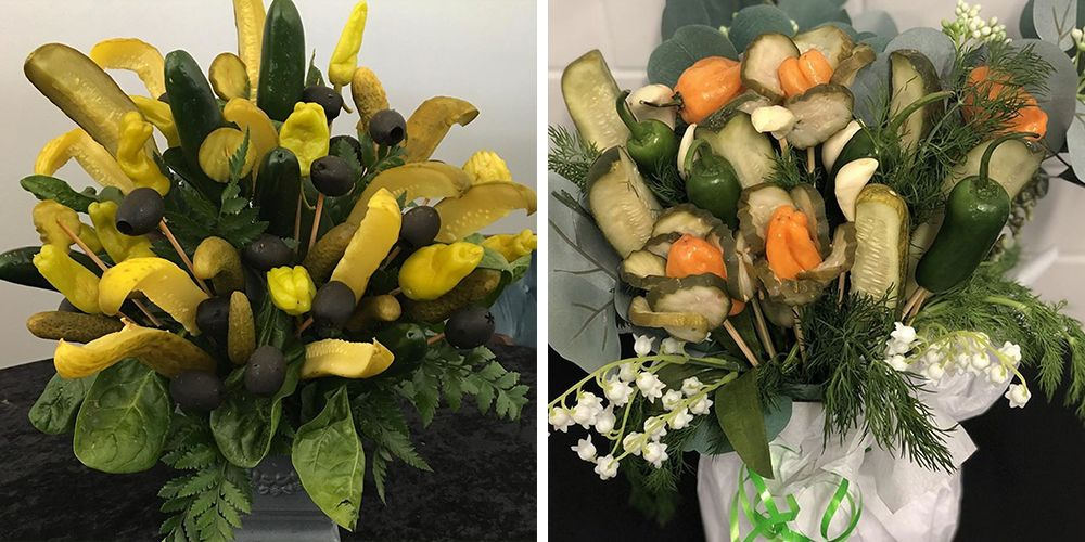 Pickle Bouquets Will Fill Your Valentine's Heart (and