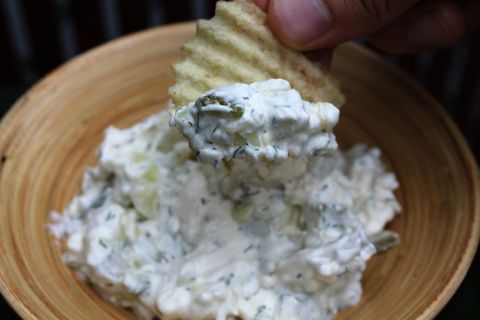 Please Crowds with Dill Pickle Dip