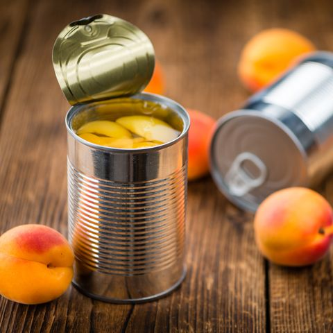 Pickled Apricots (selective focus)