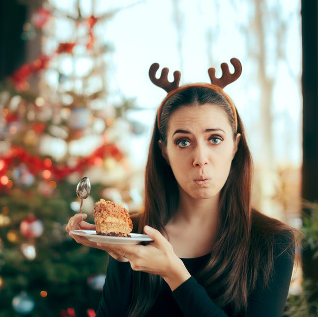 Picky Girl Hating The Cake at Christmas Dinner Party