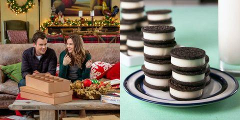 Food, Oreo, Baking, Dessert, Cookie, Snack, Baked goods, Cookies and crackers, Finger food, Cuisine,