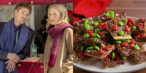 Food, Cuisine, Dish, Recipe, Christmas decoration, Finger food, Interior design, Baked goods, Dessert,