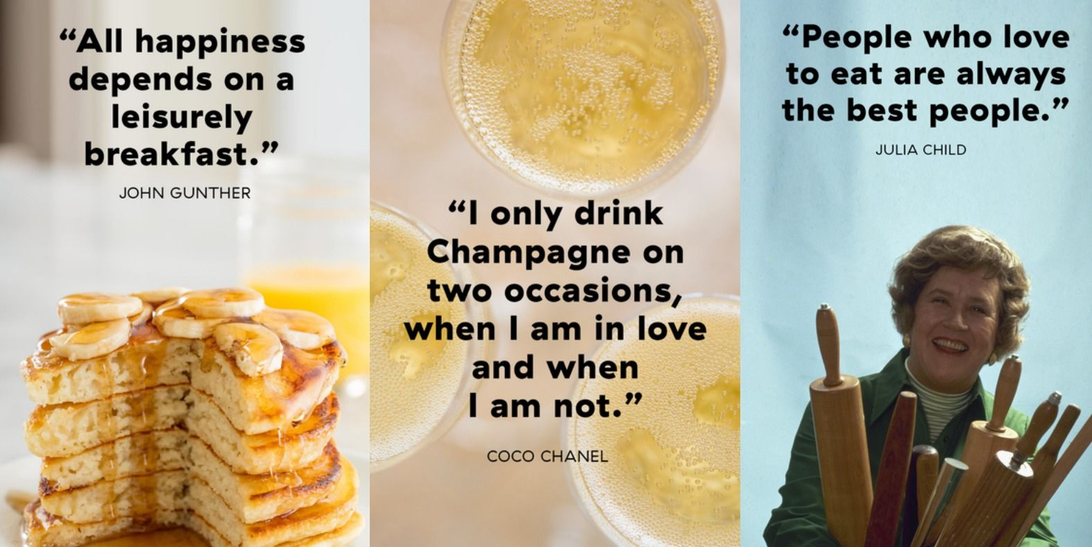 The All-Time Greatest Quotes About Food And Eating
