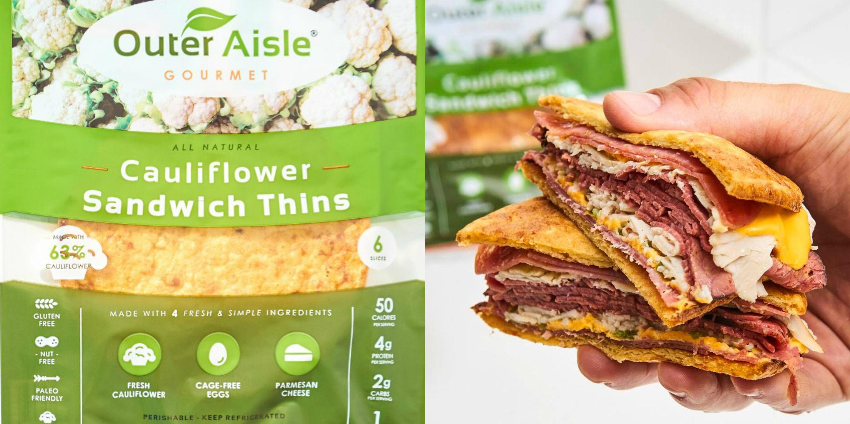Amazon Is Selling Keto-Friendly Cauliflower Sandwich Bread