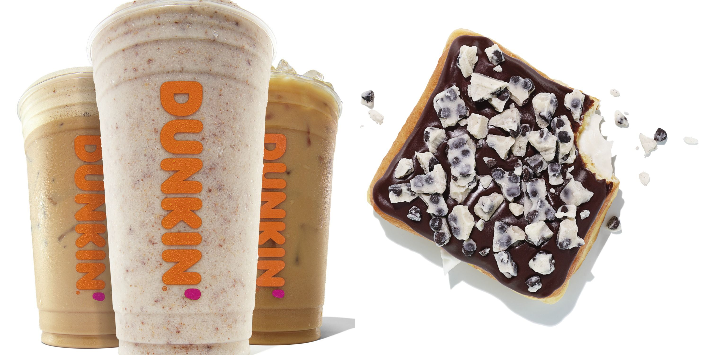 Dunkin's Summer Coffee Line-Up Is A Candy Lover's Dream