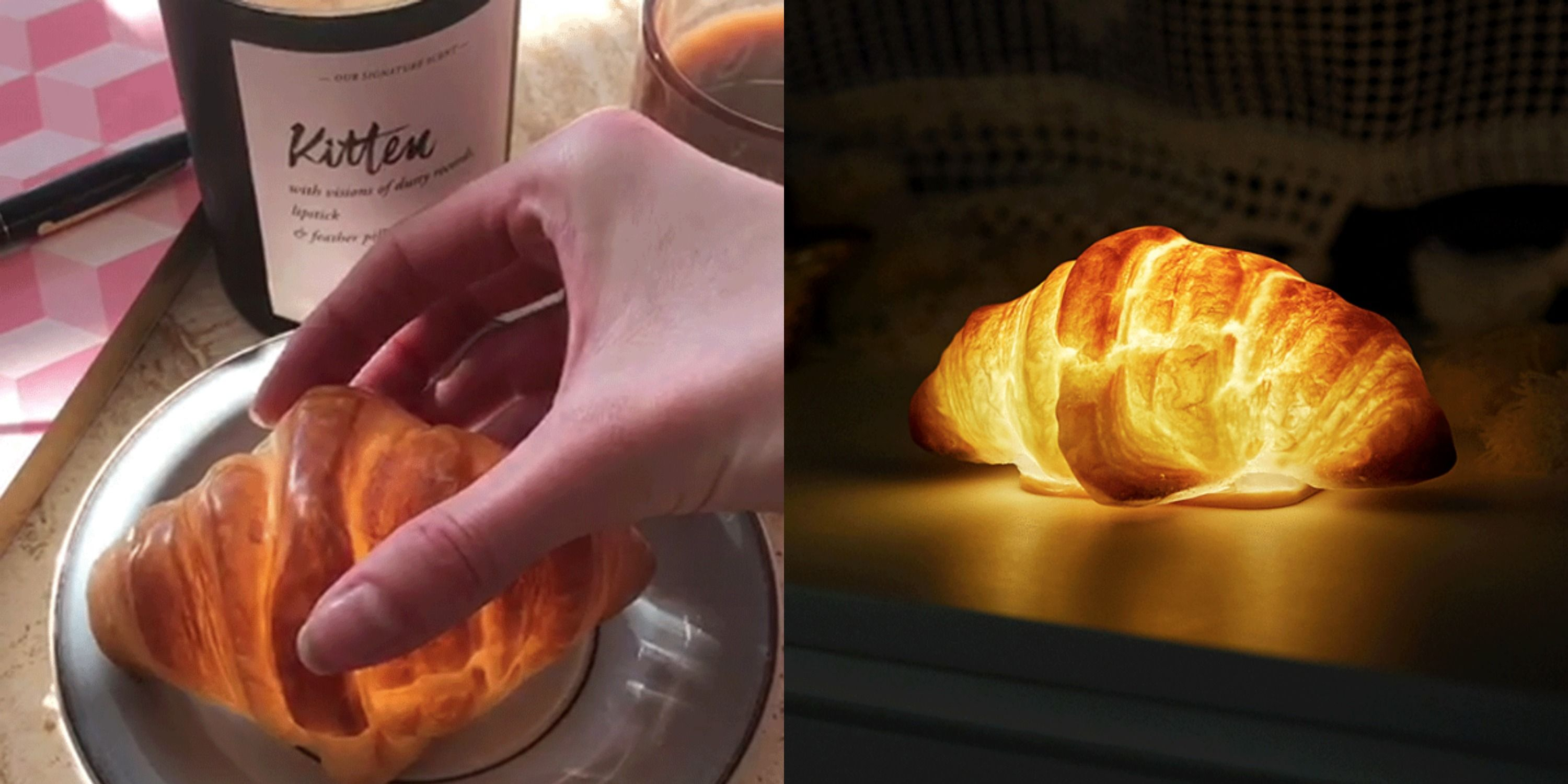 Carb Lovers: You Need This Croissant Lamp In Your Life ASAP