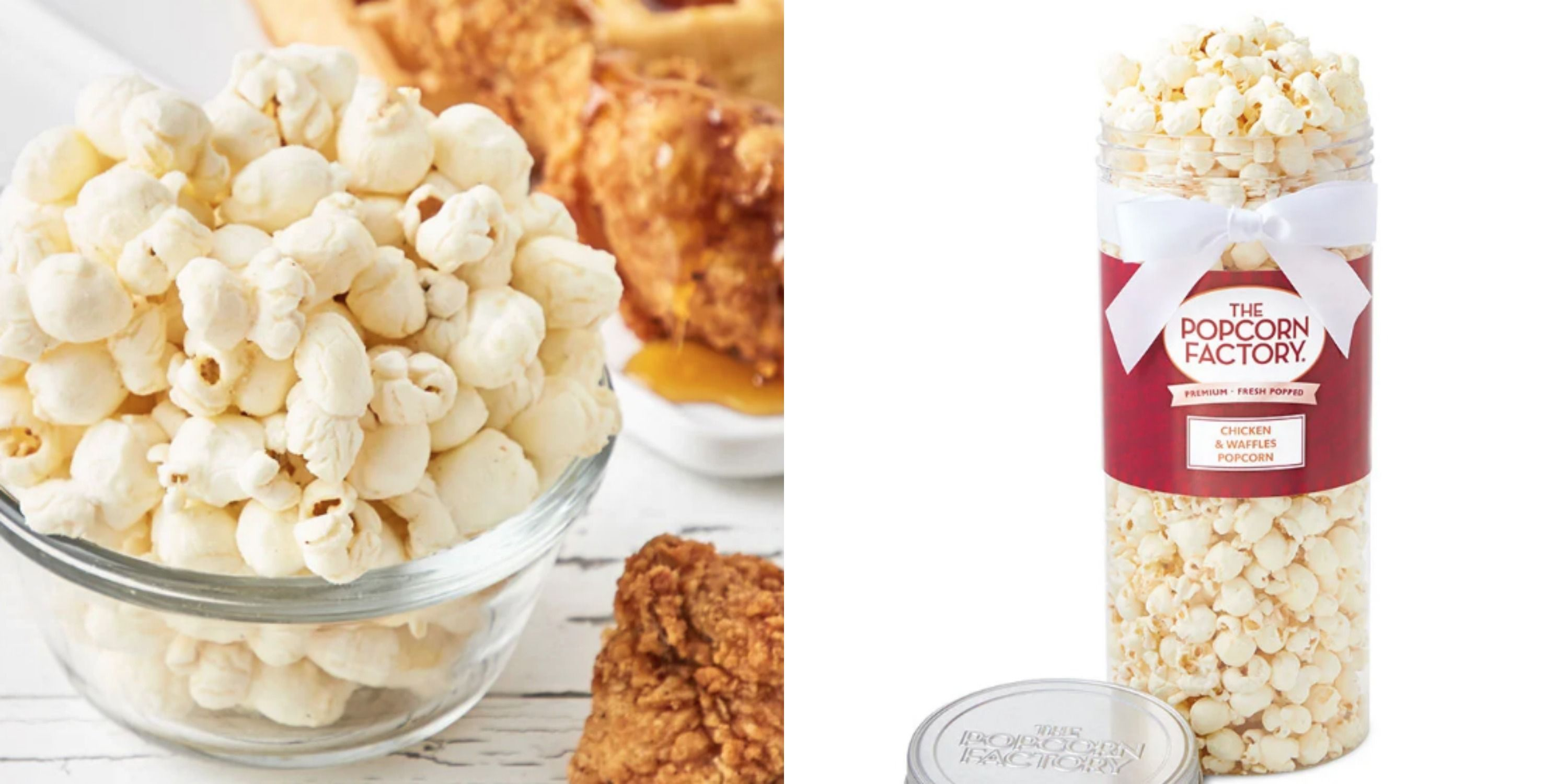 The Popcorn Factory's Launched A Savory Chicken And Waffles Popcorn