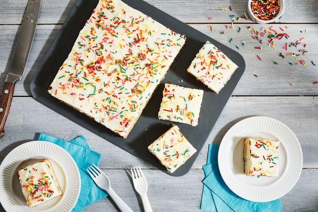 confetti cake picnic table
