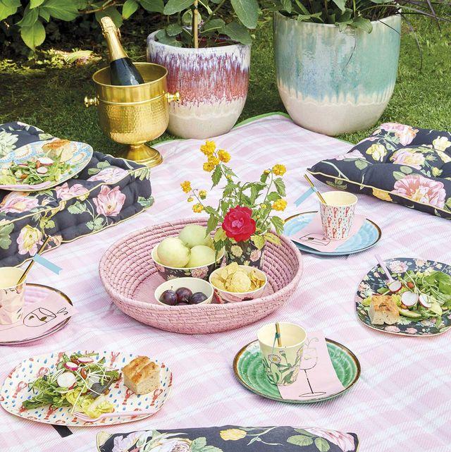 menaje para picnic