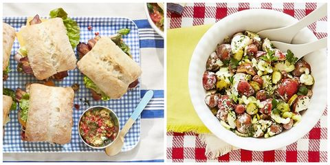 78 summer picnic recipes easy food ideas for a summer picnic picnic recipes forumfinder