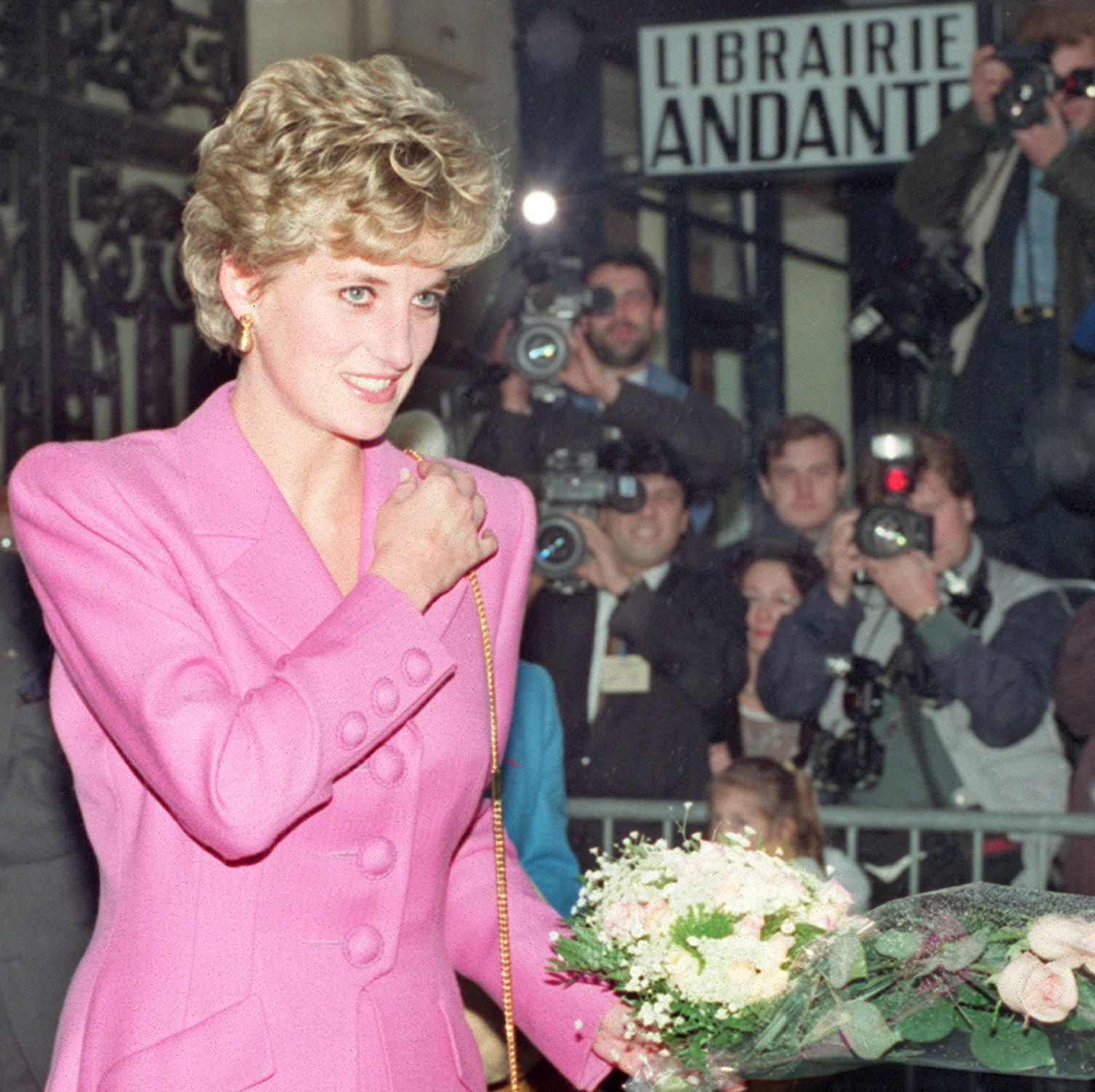 Picture dated 14 November 1992 of Princess Diana l