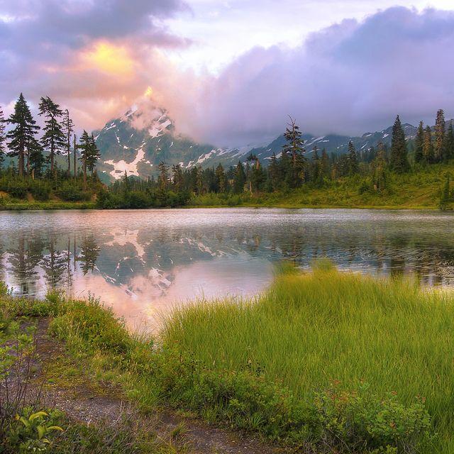 Picture Lake, North Cascades