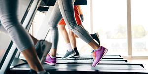How is running on a treadmill different to running outside?