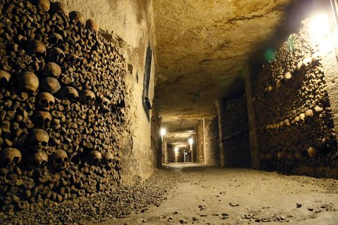 FRANCE-HERITAGE-CATACOMBS