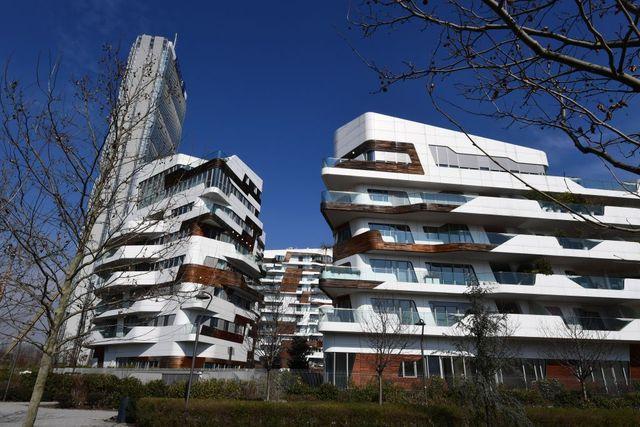 italy architecture citylife